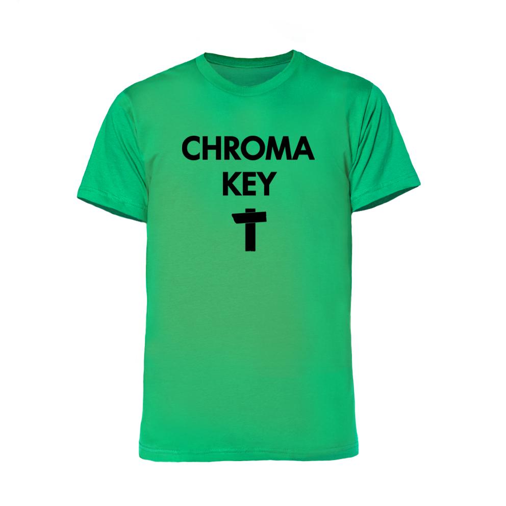 chromakey T green