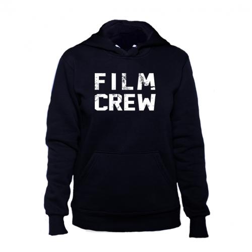 film crew черная женская толстовка